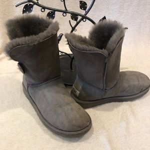 Grey Ugg's boots